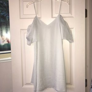 FRENCH CONNECTION Lt Grey dress size MED